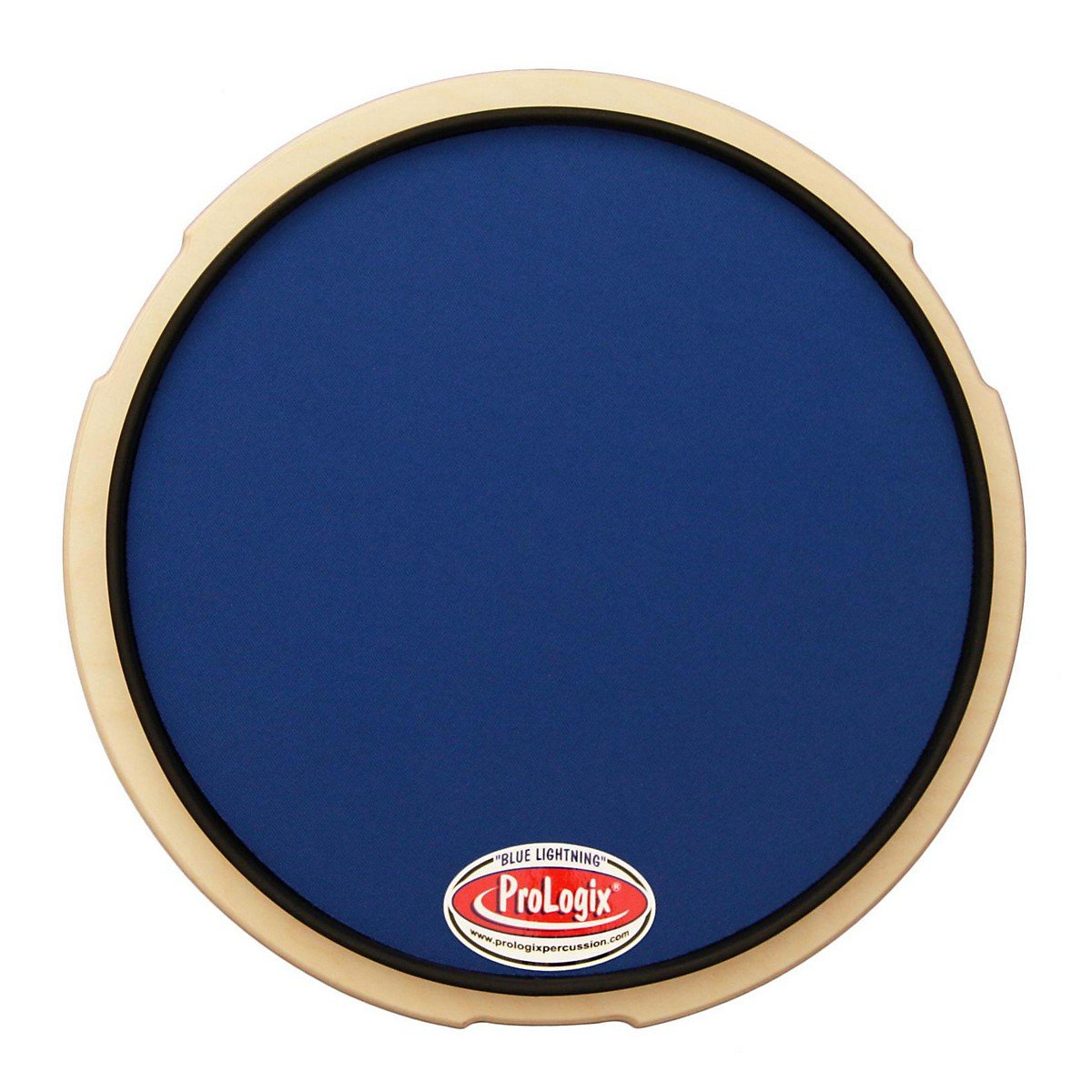 Prologix Percussion Blue Lightning Practice Pad - 10