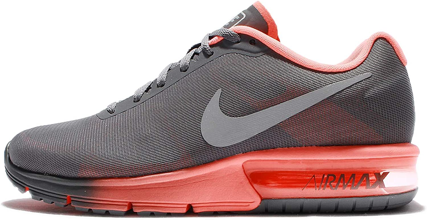 Nike Wmns Air MAX Sequent, Zapatillas de Trail Running para Mujer, Gris (Cool Grey/Metallic Silver/Bright Mango 011), 38 EU: Amazon.es: Zapatos y complementos