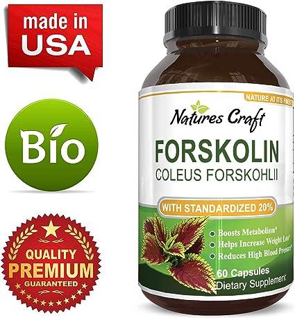 forskolin extract 250 mg