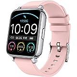 "Rinsmola Smart Watch 2021 Ver Watches for Women, Fitness Tracker 1.69"" Touch Screen Smartwatch Fitness Watch Sleep/Heart Rate"