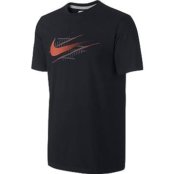 new concept 100% genuine first rate Nike tee-move IT SWOOSH Herren T-Shirt, mehrfarbig XXL bunt ...