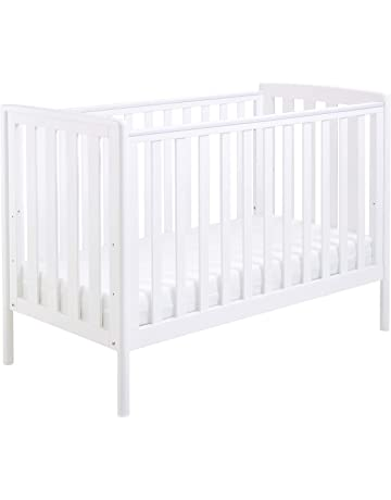Babymore Ellie Dropside Cot Bed - White