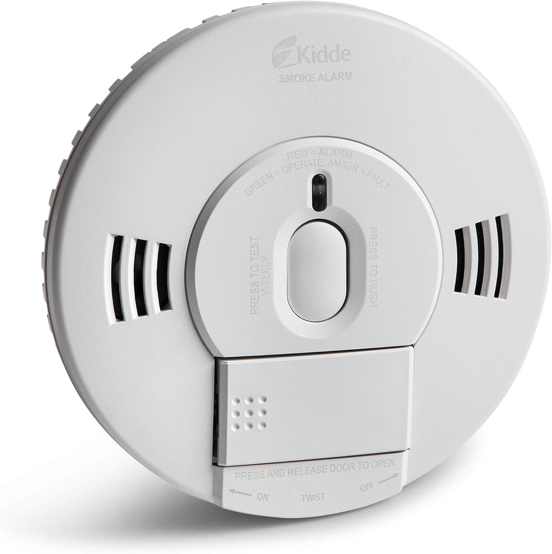 Kidde Smoke Alarm Detect Smoke /& Fire w// Voice • 9V • TruSense Tech • 2070-VDSR