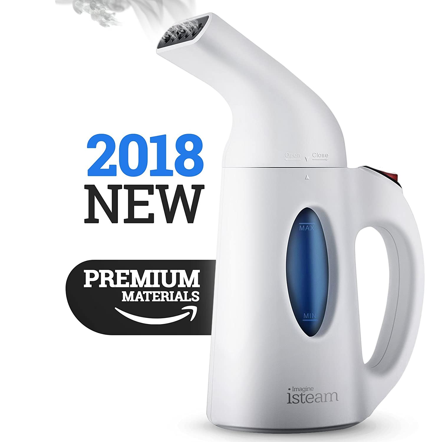 Steamer For Clothes, Handheld Clothes Steamers.4 In 1 Powerful Steamer Wrinkle Remover. Clean, Sterilize And Steamer Garment And Soft Fabric. Portable, Compact Travel/Home.Ultrafast 100 Percents Safe   Isteam by I Steam