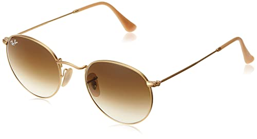 Ray-Ban Rb 3447, Gafas de Sol Unisex Adulto, Dorado (Gold), 50 mm