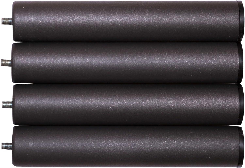 Bonitex - Somier + 4 patas cilindricas 80x180cm: BALDA ANCHA, TUBO ACERO 40x30MM, REFUERZO CENTRAL, Láminas de chopo-flex