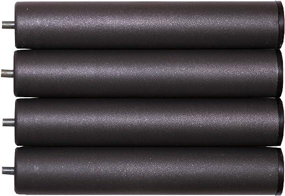 Bonitex-Somier multiláminas con REGULADORES LUMBARES + 4 patas. 90x190cm, FIRMEZA ADAPTABLE, TUBO 40x30MM y LÁMINAS de HAYA natural antideslizantes