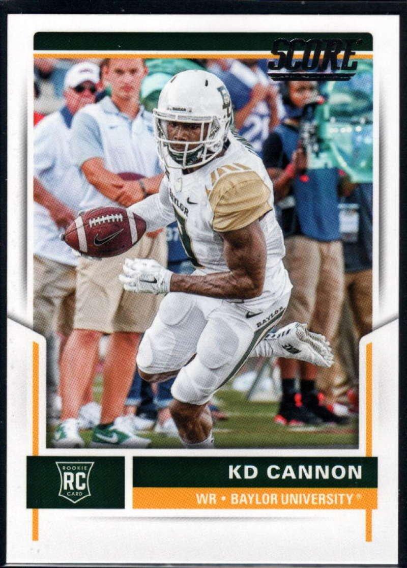 fútbol card!!! #348 2017 Panini score rookie KD Cannon,