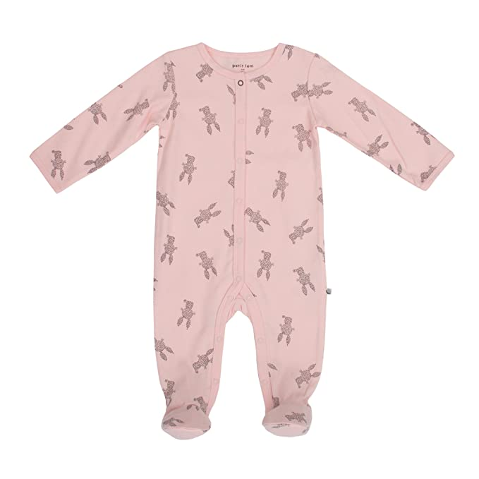 Amazon.com: Petit Lem - Pijama para bebé, algodón orgánico ...