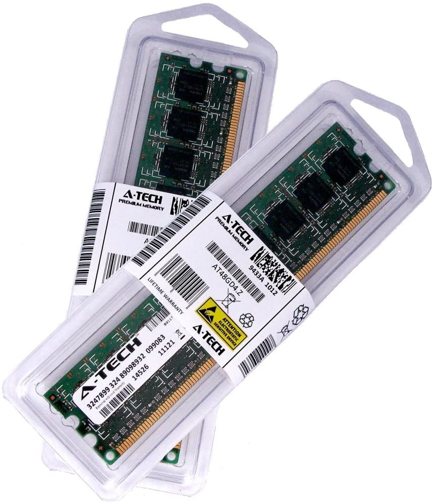 A-Tech 8GB KIT (2 x 4GB) for HP Compaq Elite 8100 Business PC (CMT,SFF) 8000 Convertible Minitower Small Form Factor 8100 8200 Microtower DIMM DDR3 Non-ECC PC3-10600 1333MHz RAM Memory