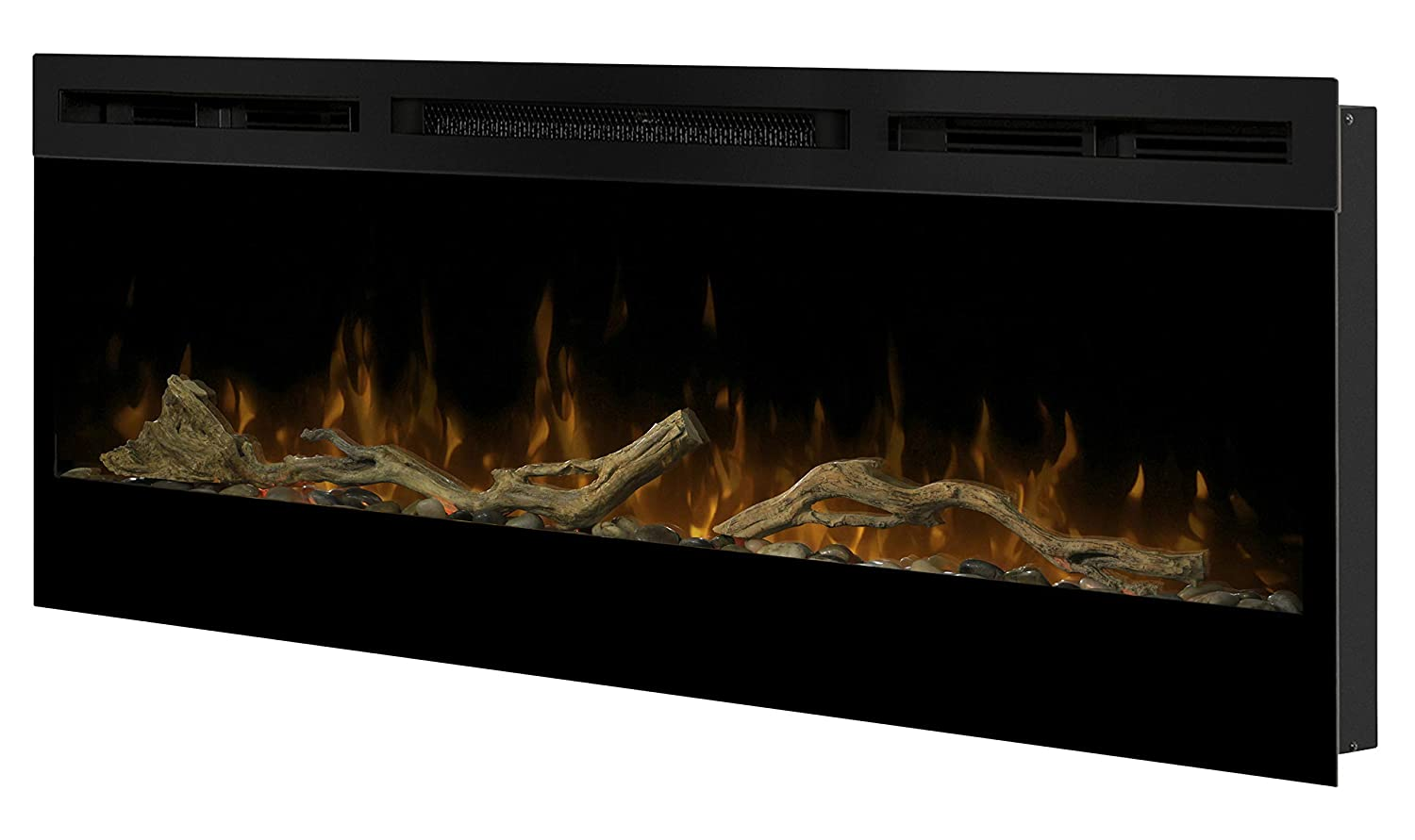 DIMPLEX North America LF50DWS-KIT Prism Electric Fireplace, Brown