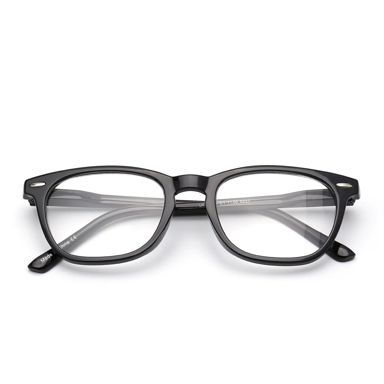 5f94f8360e7 Retro Reading Glasses Spring Hinge Tortoiseshell Eyeglasses Readers Men  Women Eyewear for Reading Jim Optical