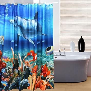 Designer Duschvorhänge schönes leben spezielle design 3d duschvorhänge duschvorhang