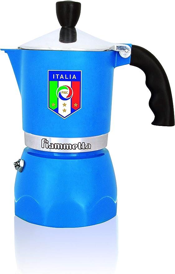 Bialetti Fiammetta - Cafetera Italiana, Color Azul: Amazon.es: Hogar