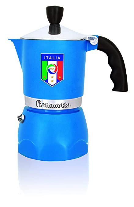 Bialetti Fiammetta - Cafetera Italiana, Color Azul: Amazon ...