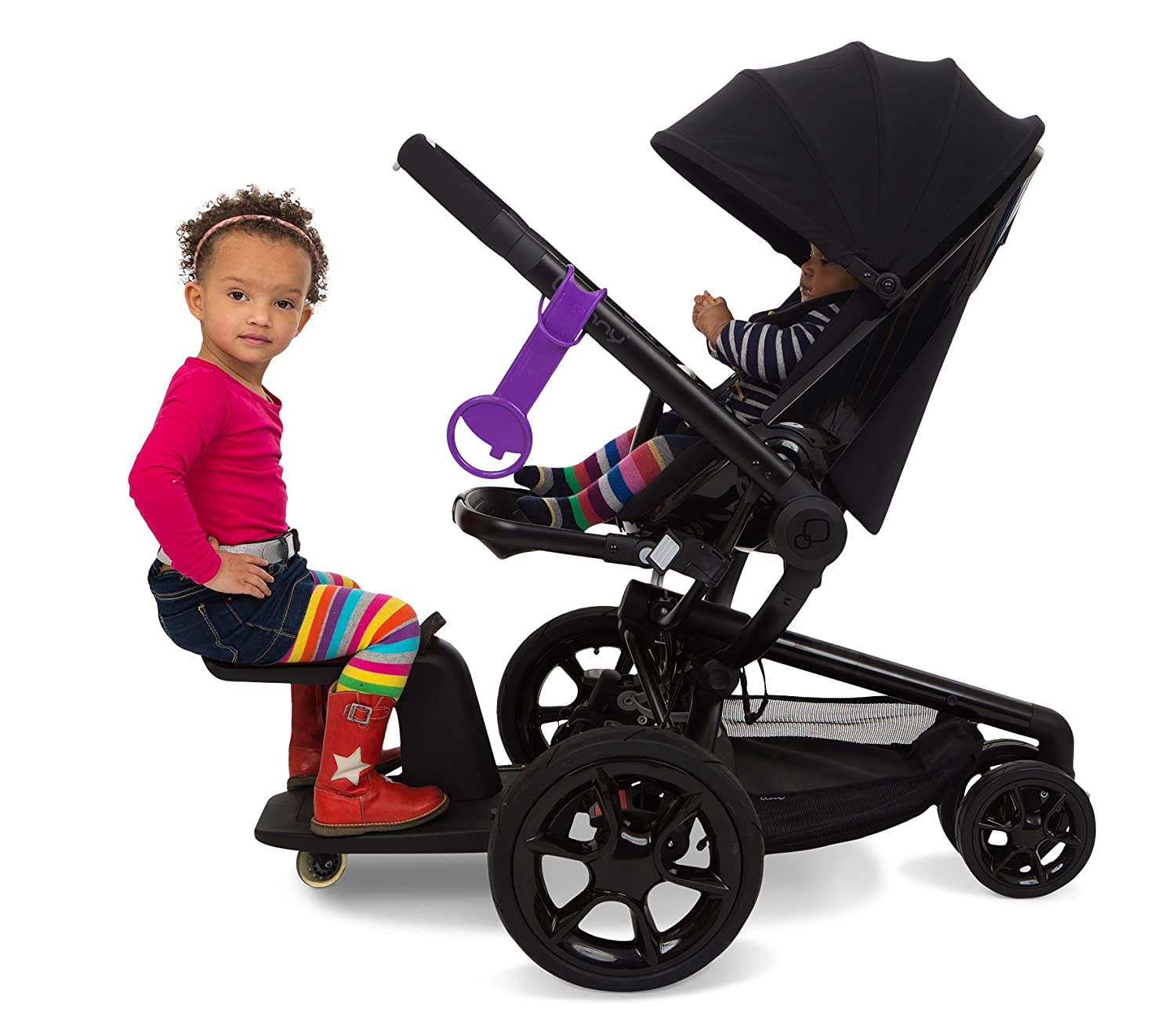 Amazon.com : Kleine Dreumes Kid Sit Wheel Board and Seat - Gray : Toy Playboards : Baby