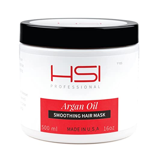 hsi prefessional argan smoothing hair mask