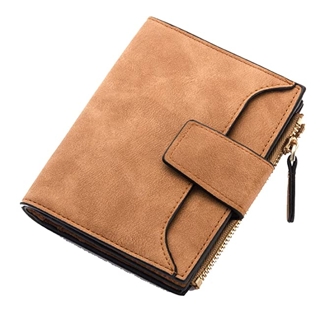 be3a2ac9ec8 Short Womens Wallet Leather Trifold Wallet Women Coin Purse Candy ...