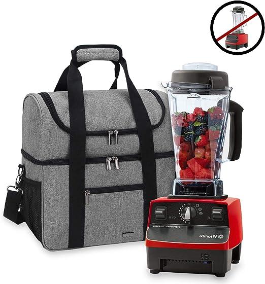 Luxja Bolsa para 2 litros Vitamix Licuadora, Bolsa de Viaje para ...