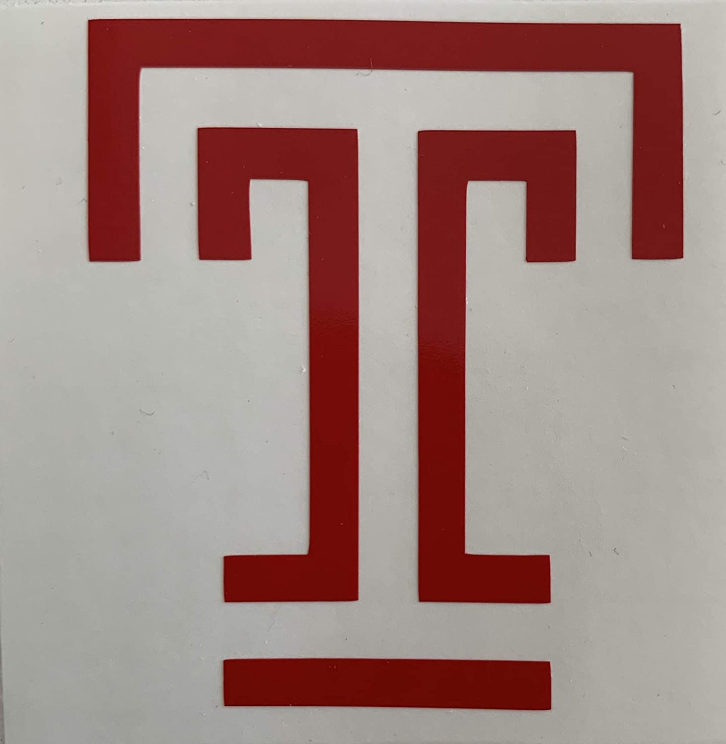 Perfect for cars Temple University Vinyl Decal Stickers tumblers computers SAME DAY SHIPPING* Yetis windows and most smooth surfaces 2 Pack