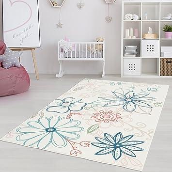 Moderner Kinderzimmer Teppich für das Kinderzimmer Pastel Öko Tex ...