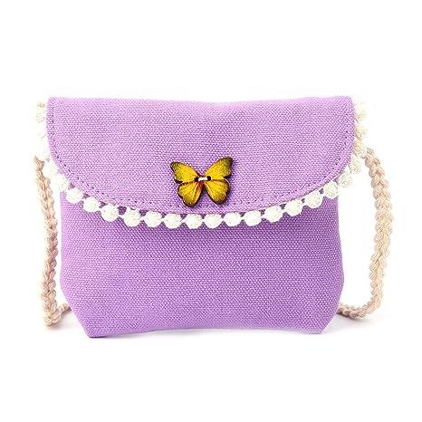 SimpleLife Kids Butterfly Messenger Bandolera, monederos de ...