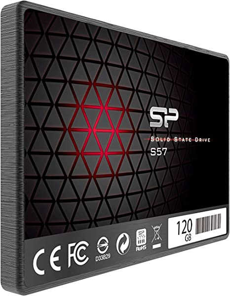 Silicon Power S57 - Disco Duro sólido Interno SSD de 120 GB (2.5 ...