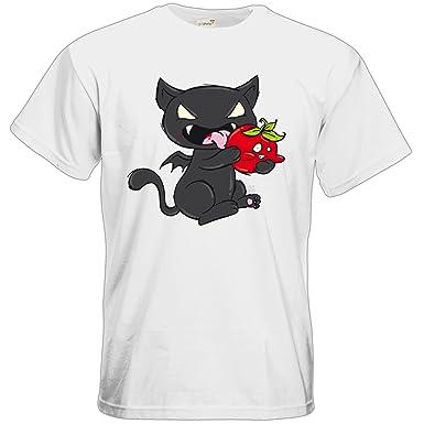 getshirts - Crapwaer - T-Shirt - Vampcat - white L