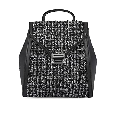 6618d3fa4a60 Amazon.com: Michael Kors Medium Whitney Textured Backpack- Black: Shoes