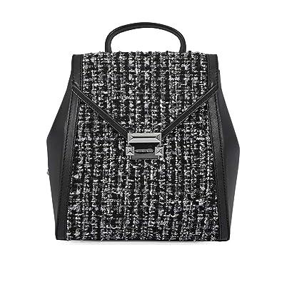 6694567b88a7 Amazon.com  Michael Kors Medium Whitney Textured Backpack- Black  Shoes