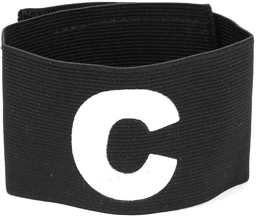 TOOGOO(R)) Deportes Character C Capitan Brazalete Elastico Impreso Negro: Amazon.es: Deportes y aire libre