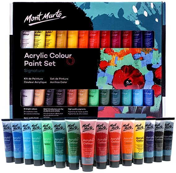 Mont Marte Mini Colour Dial for Beginners Colour Mixing//Hues