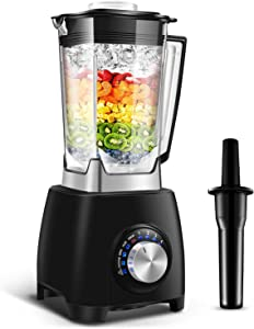 Blender Professional Blender Countertop Blender EASEPOT Home& Commercial Blender for Puree,Ice Crush,Shakes,Smoothies,Juice,68oz BPA Free Tritan Pitcher,4 Speeds,304 Stainless Steel 8-blades 1450W