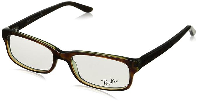 9cf62dcb65 Ray-Ban Unisex RX5187 Eyeglasses Havana Green 50mm