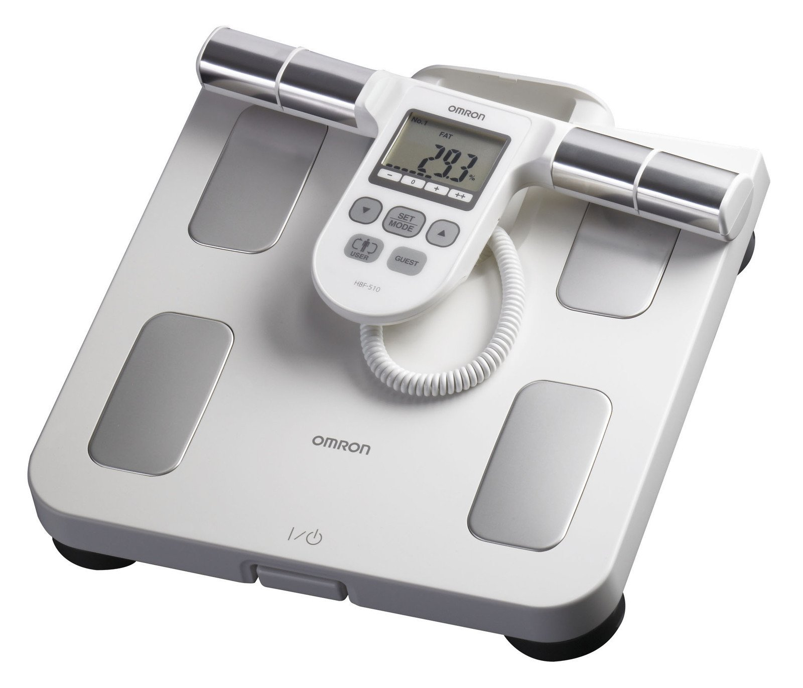 NEW Omron Hbf-510w Body Composition Monitor with Scale Fast Shipping Ship Worldwide