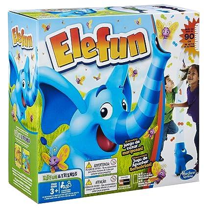 Hasbro Gaming - Juego Infantil Elefun (Hasbro B771...