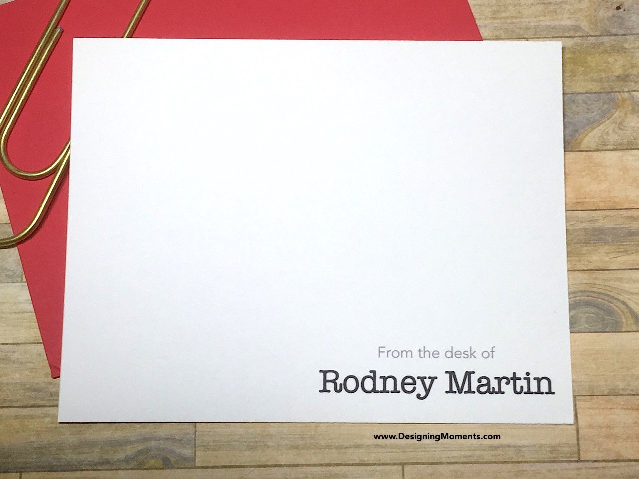 Amazon.com: Mens Personalized Stationery   Note Cards   From The Desk Of  Stationary   Thank You Cards   Mens Personalized Cards DM119: Handmade Ideas