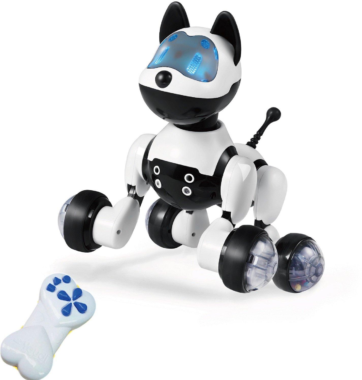 Hi-Tech Wireless Remote Control Robot Dog Smart Interactive Puppy Senses Gesture, Sings, Dances for Boys, Girls, Kids and Children by HI-TECH OPTOELETRONICS CO., LTD. (Image #3)