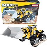 STEM Construction Toys | Bulldozer Building Kit, Front Wheel Loader - Top Educational Engineering Toy Set for Boys And…