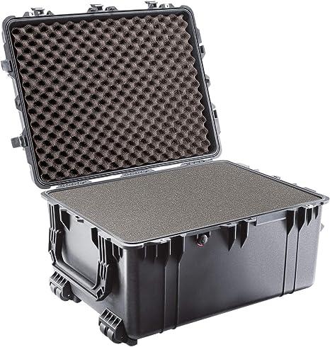 Pelican 1630 Transport Case - Caja (Polipropileno (PP), Negro, 703 mm, 533 mm, 394 mm, 16,3 kg): Amazon.es: Informática