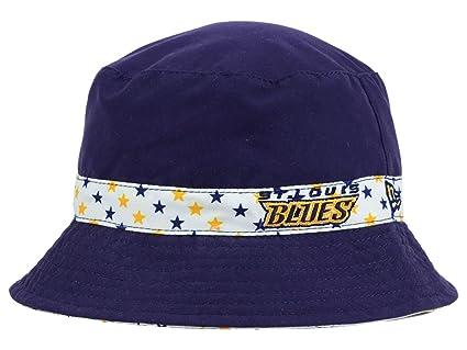 cheaper cda90 8303e ... italy st. louis blues nhl new era kids youth reversible blue white  bucket hat 62c14