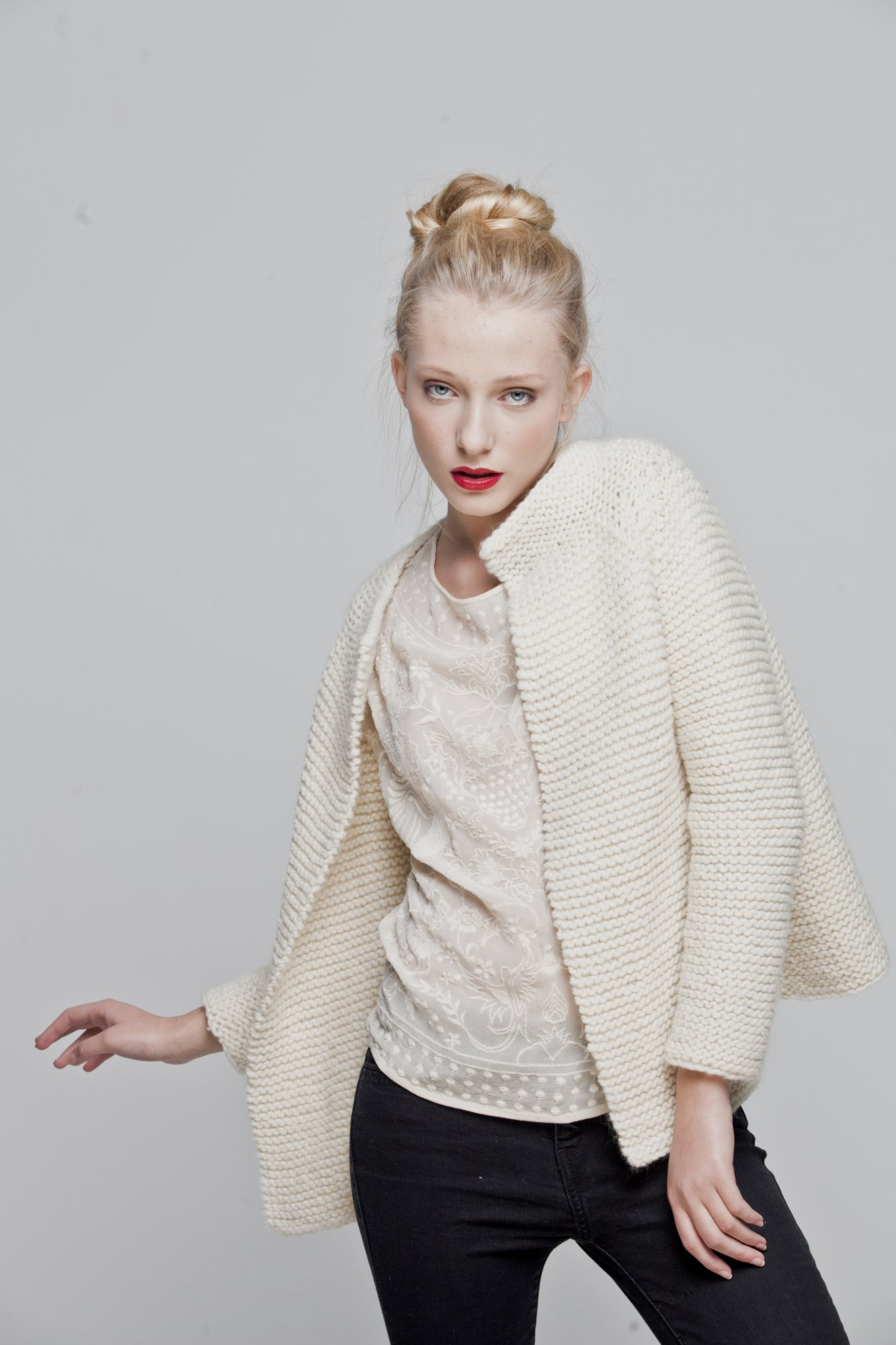 We are Knitters - Intermediate Level Knitting Kit - Martina Cardigan by We Are Knitters (Image #2)