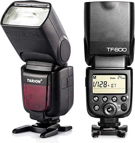 TARION TF600 Flash con Zapata Speedlite 1/8000 sincoriza con alta ...