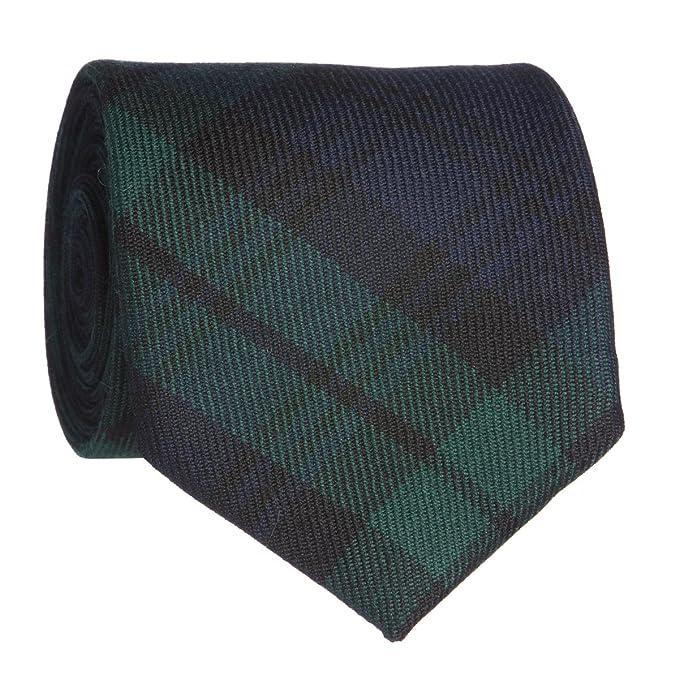 Lochcarron - Corbata de cuadros para hombre, 100% lana, 142 cm de ...