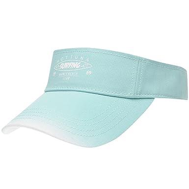 c6995e372bb Hot Tuna Womens Visor Aqua White Ladies  Amazon.co.uk  Clothing