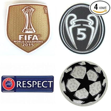 Amazon.com: FC Barcelona Patch Set 2016 – 2017 Soccer Jersey ...