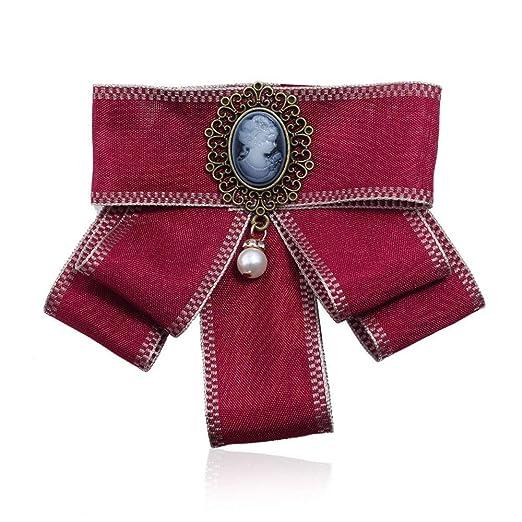 Mujeres Moda Broches, Las mujeres perla cuelgan Pre atado en capas ...