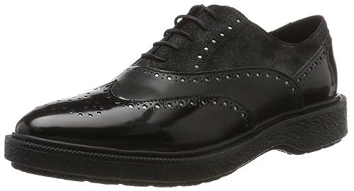 Geox D Prestyn B, Zapatos de Vestir para Mujer: Amazon.es: Zapatos y complementos
