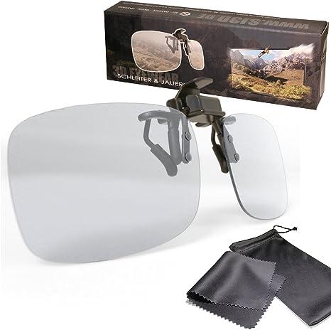 Gafas de clip 3D pasiva VERSION 2 para RealD: Amazon.es: Electrónica