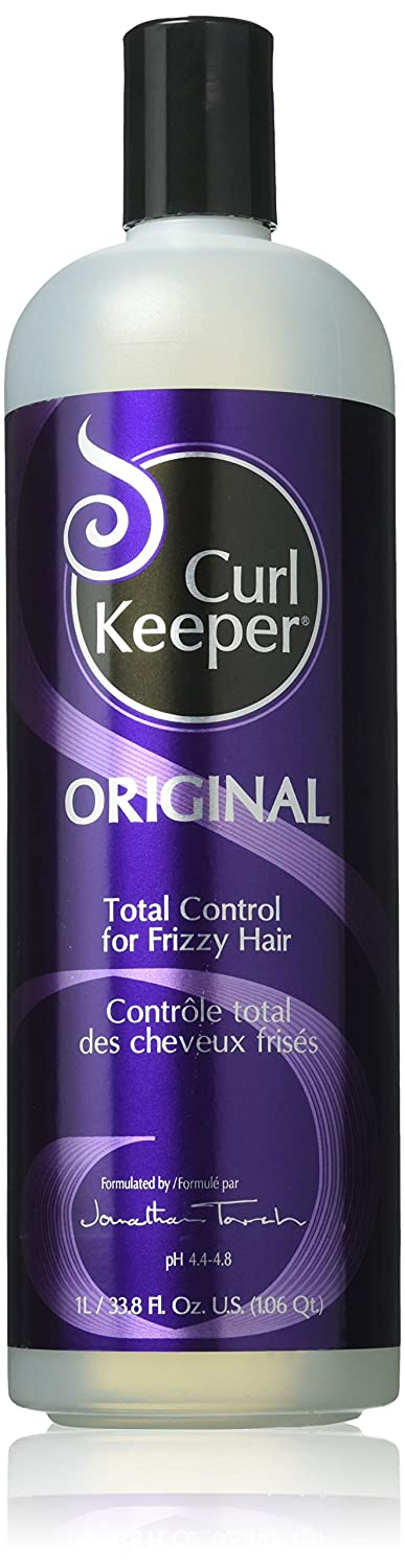 Curly Hair Solutions Curl Keeper Original, Total Control for Frizzy Hair in All Weather Conditions, Especially High Humidity (33.8 Ounce) X-OR1000